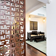 中式客厅风格装修设计图片