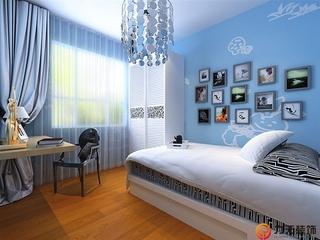 简约两室两厅欣赏卧室