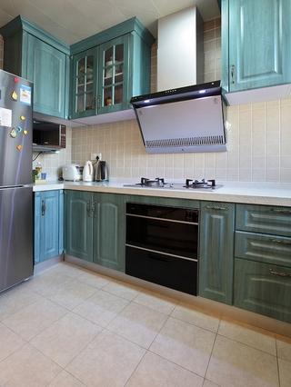 115平美式舒适住宅欣赏厨房局部
