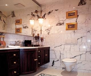 新中式两居室设计欣赏卫生间灯饰