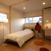 158平日式风格别墅欣赏卧室效果
