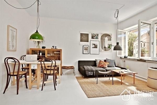 50平白色北欧公寓欣赏