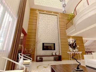 185平中式风格别墅欣赏