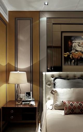 110平奢华现代住宅欣赏卧室灯饰