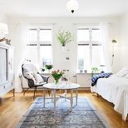 暖心蜗居小公寓欣赏客厅效果