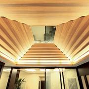 日式风格客厅吊顶