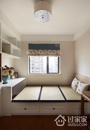 97平美式三居室欣赏卧室窗户