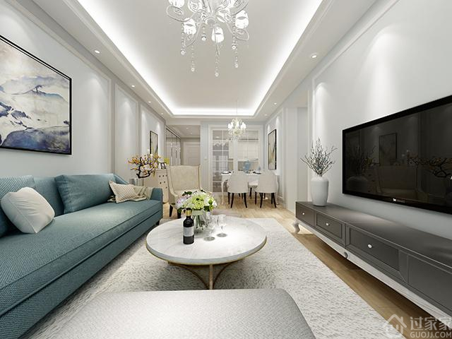 【黑科技】我为表哥家设计的全景效果图 86㎡3房2厅