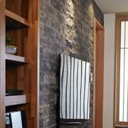 110平日式风格住宅欣赏客厅陈设
