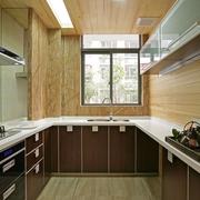 中式厨房装修效果图