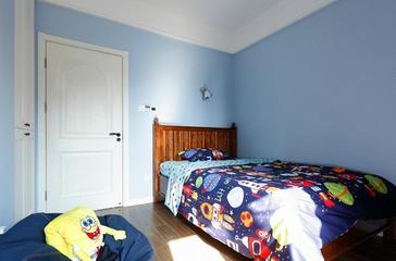 120平居家美式欣赏儿童房