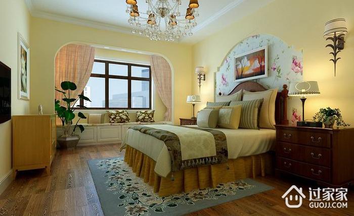 79平田园风住宅案例欣赏卧室设计