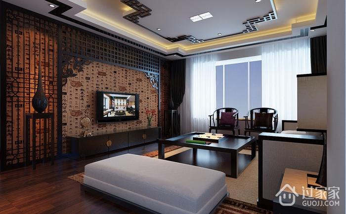 沉稳雅致中式住宅欣赏