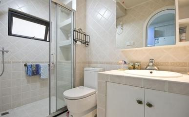 92平地中海温馨住宅欣赏卫生间
