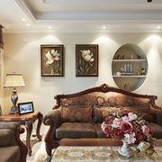 混搭客厅背景墙装修效果图 你喜欢吗
