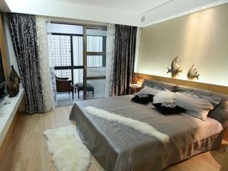 时尚简约一室一厅欣赏卧室