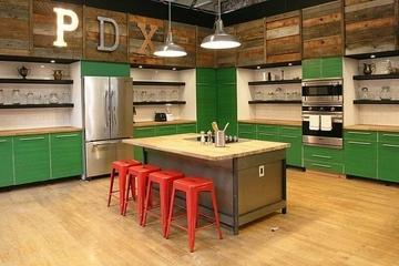 五颜六色创意混搭欣赏厨房