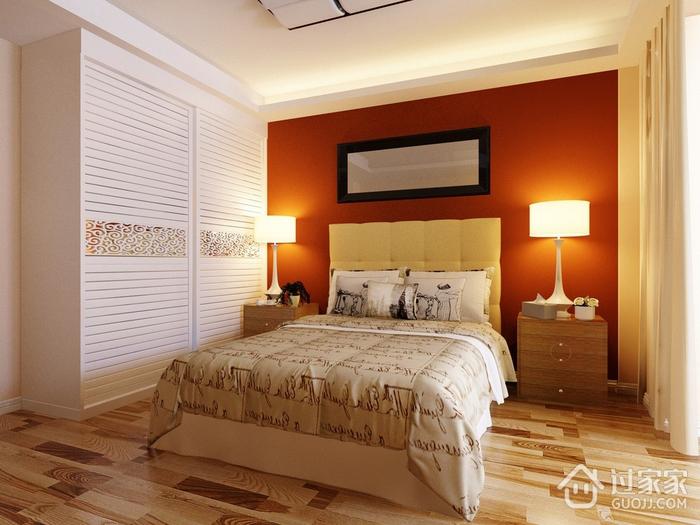 家居卧室衣柜效果图 温馨又舒适