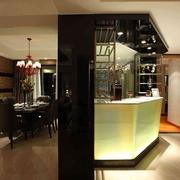 116平简欧风格三居欣赏餐厅设计