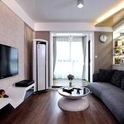 个性客厅背景墙装饰图 极简精美家居