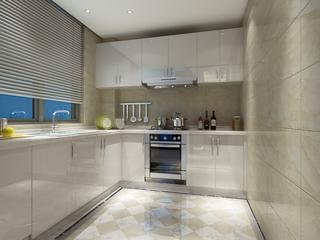 新古典样板两居欣赏厨房橱柜