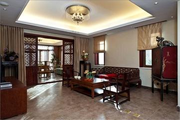混搭奢华三居室欣赏客厅吊顶
