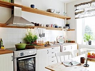 51平北欧一室一厅欣赏厨房