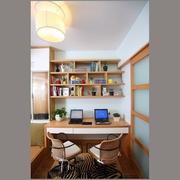 简约单身公寓书房设计