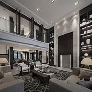 现代奢华复式楼欣赏
