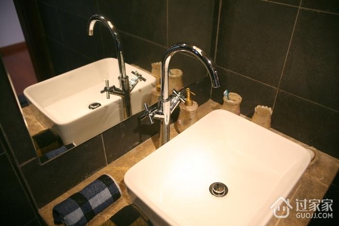 中式效果图洗手盆