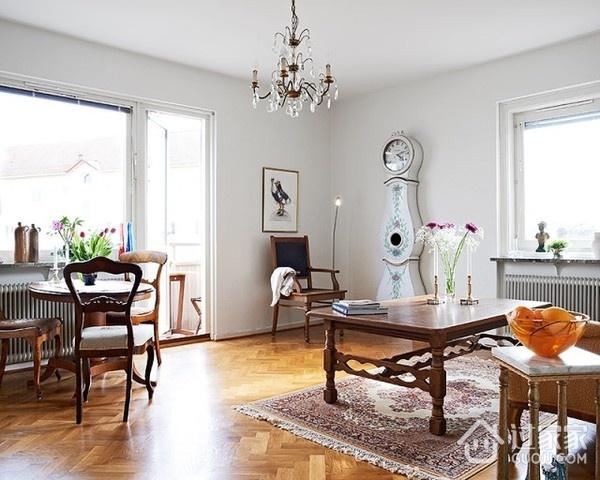 白色北欧住宅案例欣赏