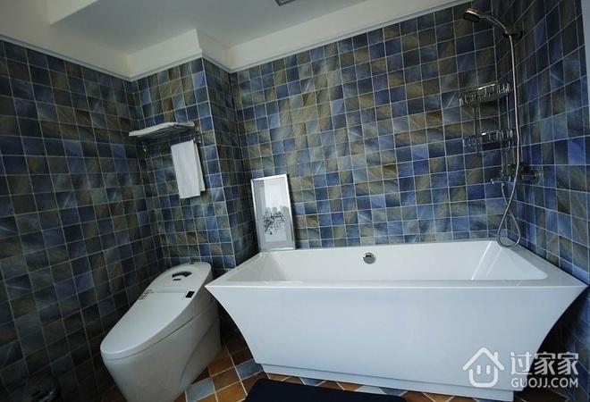 简约舒适三居室案例设计欣赏卫生间吊顶