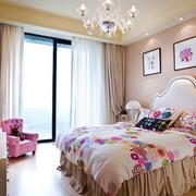 唯美简欧大两居欣赏卧室设计