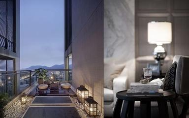 117平新古典样板房欣赏阳台