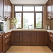 中式风格厨房窗户效果图