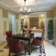 美式风格装修效果欣赏休闲厅