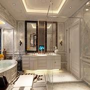 法式贵气样板间欣赏卫生间设计