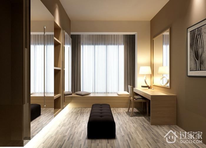 精美卧室飘窗装修效果图 让生活简单无负担