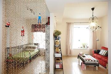 宜家设计装饰住宅效果图隔断
