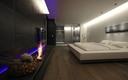 现代风格设计卧室背景墙