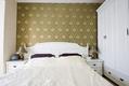 卧室壁纸装饰效果图 温馨家居
