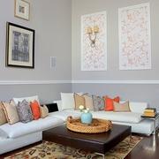 简欧风格客厅装修设计套图