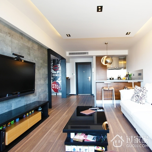 50平米现代一居室欣赏
