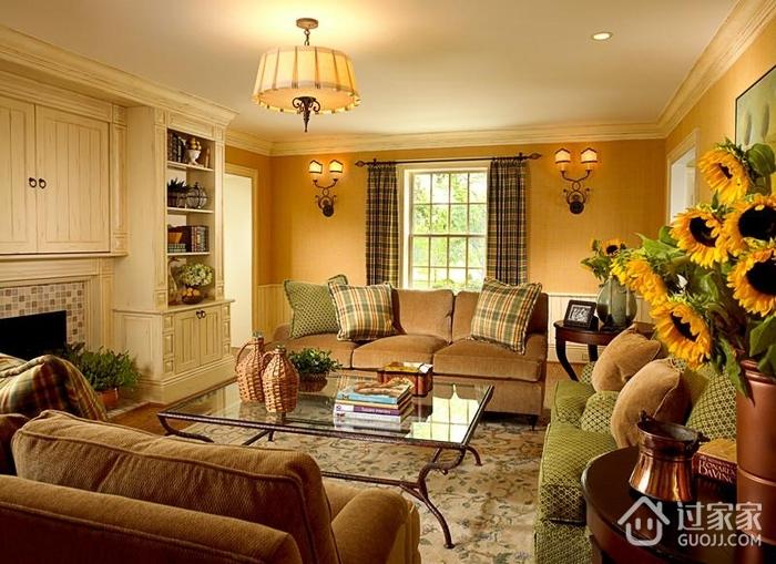 轻奢欧式风格住宅套图客厅图片