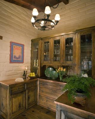 美式风格套图设计欣赏酒柜