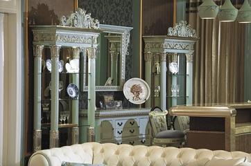 法式奢华精致住宅欣赏客厅陈设