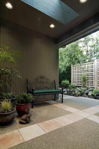 现代风别墅套图花园