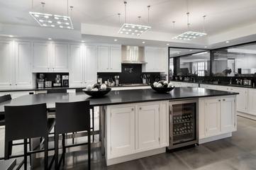 140平奢华新古典住宅欣赏厨房设计