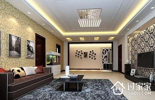 客厅吊顶有哪些设计形式?应注意哪些重点?