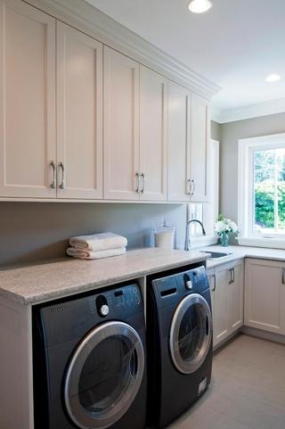 欧式风格设计图洗衣间